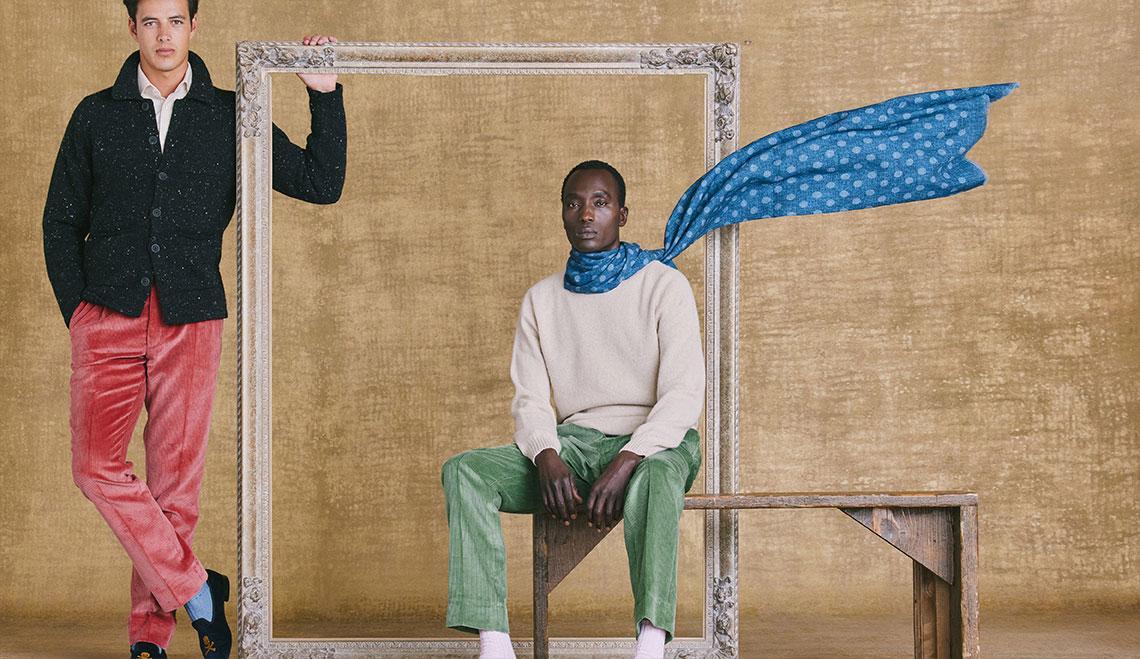 Wool/Cashmere Carpenters Jacket Lifestyle