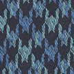 Turquoise Large Dogstooth Silk Tie