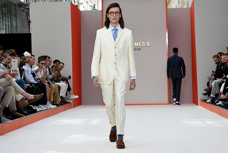 New & Lingwood at London Fashion Week Mens 2018