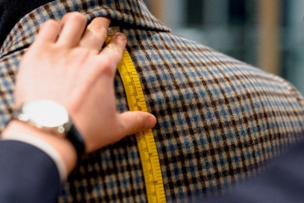 measuring tape suit
